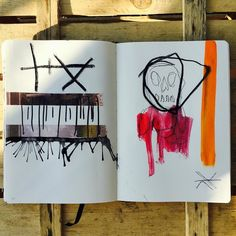 The Rift Chronicles V: But She Came Back As They Ever Come Back #contemporaryart #contemporary #art #artist #painting #paint #drawing #draw #conceptart #runes #symbols #mystery #sketch #sketchbook