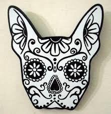 Bulldog Frances Para Pintar Buscar Con Google Pintura De Gato Calaveras Esqueleto De Perro
