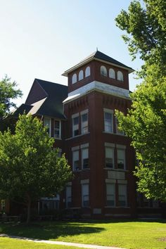Eureka College - Burgess Hall - Where I spend almost all of my days
