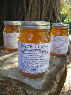PINTS of Fire Cider for a serious jolt to your by UberHerbal