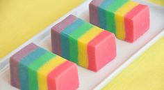 Rainbow Fudge.