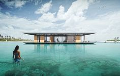 Floating House Concept – New Ideas For Sustainability