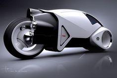 Tron Legacy Vintage Lightcycle - Daniel Simon designs