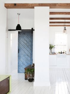 Scandi home of Sydney designer Interior Barn Doors, Home Interior, Interior Architecture, Interior Design, Interior Styling, Loft House, House Rooms, Inspiration Design, Home Decor Inspiration