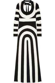 MARC JACOBS - Monokrom Op Art Elbise  Daha Fazlası: Hipnottis.com