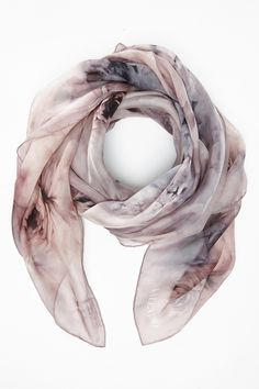 Valentino Scarves Camera Photography, Photography Women, Food Photography, Scarf Display, Hand Painted Fabric, Scarf Design, Silk Painting, Silk Scarves, Scarf Styles