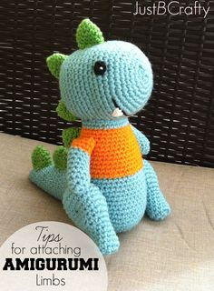 Tips for Attaching Amigurumi Limbs