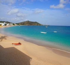 Another glorious morning on Grand Case Beach St. Martin. #ilesaintmartinwk