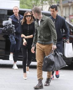 Couple Outfits, Men's Outfits, Fashion Outfits, Men's Street Style Photography, David Beckham Style, Nick Wooster, Hair And Beard Styles, New Look, Celebrity Style