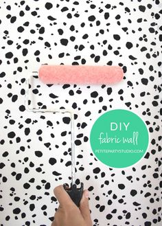 Fabric Wall DIY Petite Party Studio