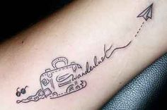 41 Perfect Tattoos For Anyone Who Loves To Travel