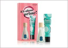 Benefit Cosmetics - it's about prime! #benefitgals