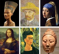 Art History Memory Matching Game with Free Printable
