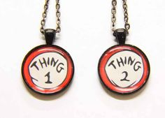 Dr. Seuss Friendship Necklaces - for the one you make mischief with