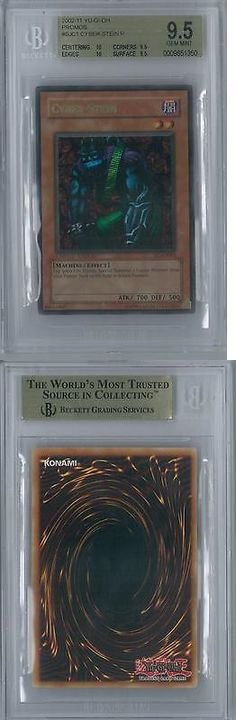 Yu-Gi-Oh Individual Cards 31395: Yu-Gi-Oh Shonen Jump Championship Series Promos 2004 Cyber-Stein Ultra Rare Bgs -> BUY IT NOW ONLY: $3304.95 on eBay!