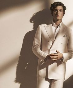 A Sharp Dressed Wouter Peelen Graces Canali's Spring/Summer 2013 Campaign
