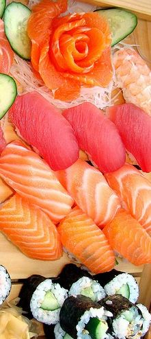 Sashimi - Look and sound yummy! What time is dinner?