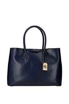N91L3365RL260V4LAA-Ralph-Lauren-Handtasche-Damen-Leder-Blau