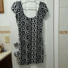 Tribal Mini Dress  Super cute and comfy. In good condition. Wet Seal Dresses Mini