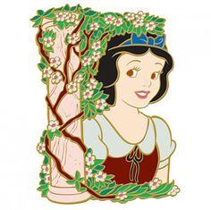 View Pin: DisneyShopping.com - Flower Portrait Series - Snow White