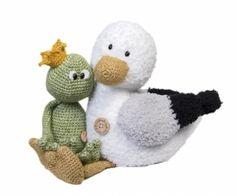 Haakpatroon meeuw Mees #haken #haakpatroon #gehaakt #amigurumi #knuffel #gehaakt #crochet #häkeln #cutedutch