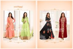 Wholesale Catalog - Textilevilla pvt ltd Pakistani Suits, Anarkali Suits, Orange Contrast Color, Stylish Kurtis, Floor Length Anarkali, Bollywood Dress, Dia Mirza, Kamiz, Africa Fashion