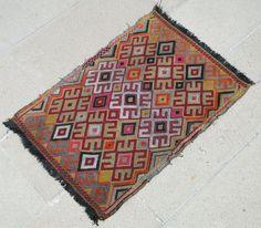 Turkish Rug x Hand Woven Sivrihisar Jajim Kilim x Turkish Kilim Rugs, Rugs On Carpet, Bohemian Rug, Hand Weaving, Traditional, Antiques, Crafts, Ebay, Home Decor