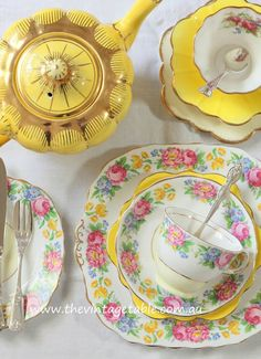 Vintage tea sets