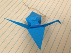 Students love making these origami crane ornaments! It's amazing what students can accomplish when they're motivated!