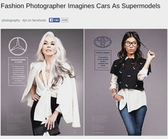 Fashion Photographer Imagines Cars As Supermodels by photographer Viktorija Pashuta Source by miraluna Models Men, Fashion Models, Mini Car, Latest Cars, Trends, Stock Pictures, Real Women, Photo S, Supermodels
