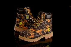 New Timberland Boots For Men 6 Inch Honeycomb Print - Wheat Brown ,New Timberland Boots 2017,timberland boots style,timberland Boots classics,timberland waterproof field boots