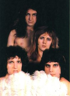 "brianharoldmay6539: ""Queen nude session,1973 Photos by Mick Rock """