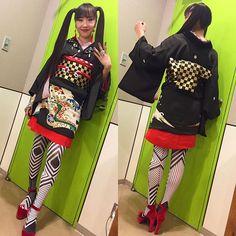 ガンダムサンダーボルト!今回も素敵イベントでした歌姫iciの着物スタイリングしましたよン 朱美さんのお着物で着付け&プロデュースして頂き、今回もハイパーneo着物!スタイル抜群なiciサマになるな〜 タイツはtokone❌sokkuan tye 【DaDa 】タイツ❤️#ガンダム #ガンダムサンダーボルト #菊地成孔 #ici #着物 #kimono