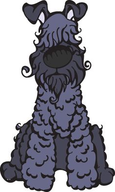 Kerry Blue Terrier http://dogbreedtradingcards.tumblr.com/post/19235172326/120-kb-kerry-blue-terrier-from-the-terrier-group
