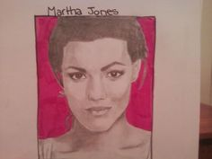 This is a drawing of Martha that I, @HannahJackfield did!