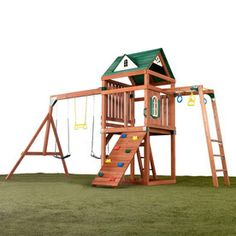 Swing-N-Slide�Cumberland Ready To Assemble Play Set - I am really considering this one.