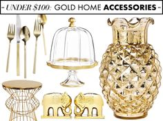 Low Behold Sold on Gold Gold Decor Trend Gold Gold rooms