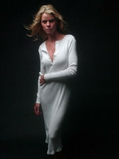 Row, row, row your boat … Inspired by the elegant uniform of those 19th-century English rowing clubs in Henley-on-Thames, we've fashioned his classic, long-sleeved, button crewneck into two lengths for her: a flirty mini dress, and a sexy calf-grazing gown.  With long sleeves you can push up your arms and an extended mother-of-pearl button placket, our versatile Henley Long Dress is made of cozy, wide-ribbed, 100 percent cotton. The Henley Series is designed with a long placket of buttons…
