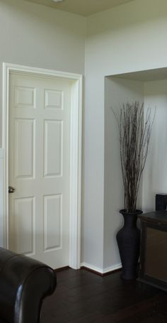 molding around doors - a how to