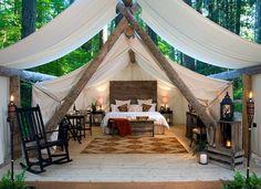 Forest Tent, Washington