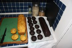 Two recipes for delicious zucchini bread. One is pumpkin and the other chocolate. Guliash Girl gives tips and tricks for these yummy baked treats. Zucchini Bread, No Bake Treats, Breads, Pumpkin, Chocolate, Healthy, Tips, Recipes, Zucchini Loaf