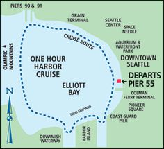 Argosy Harbor Tour 11 am, 12:15, 1:30, 2:45, 4:00, 5:15, 6:30. Be there at least 15 minutes prior for boarding pass.