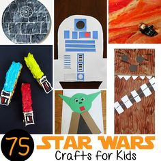 There are so many easy and fun <strong> Star Wars Crafts for Kids </strong> — from Wookiee cookies to a Death Star made from cupcake liners, we've put together a Mega List of ways for you to use The Force to create something awesome!   We started training my son in the ways of theJedi at an early age — his <em class=short_underline> Star Wars nursery </em> is still one of my favorite projects. With Star Wars: The Force Awakens opening in jus...