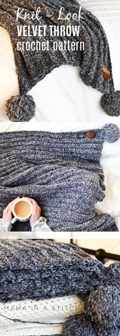 This easy crocheted
