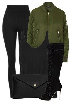 """""""Untitled #414"""" by beautifully-ambitious ❤ liked on Polyvore featuring Topshop, Linell Ellis and Gianvito Rossi"""