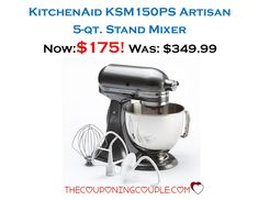 KitchenAid Clic Plus 4.5 Qt Stand Mixer - Only $93.99 ... on