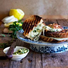 Herby Sourdough Mozzarella Braai Toastie