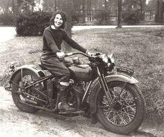 Vivian Bales - 1929 HD Model D