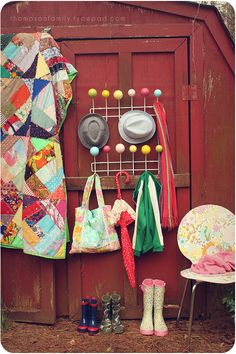 eames inspired hang-all diy project. almost bought the real thing...but i'll think i'll try this instead (WAY more cost effective)