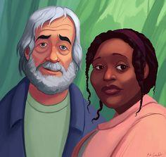Rose and Bernard by Matt Greenholt,